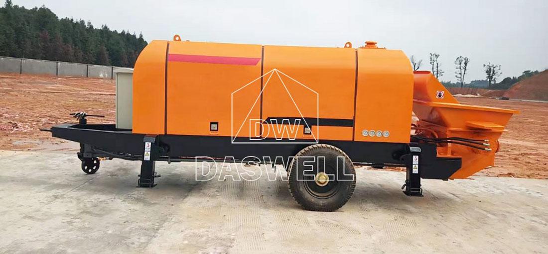 CPD90 diesel engine trailer pump
