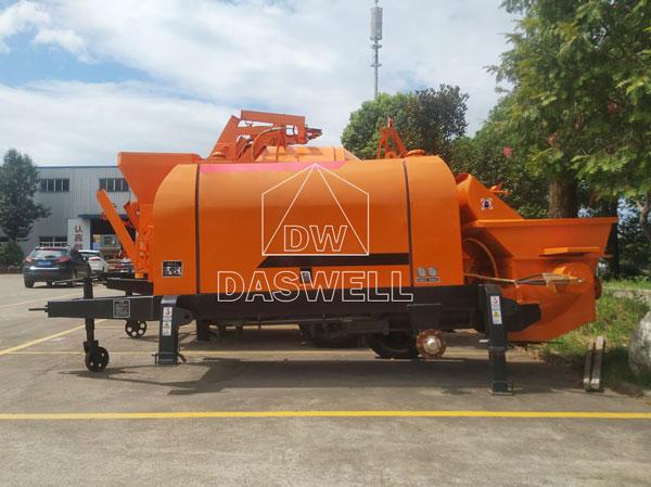 CPE30 concrete trailer pump sale