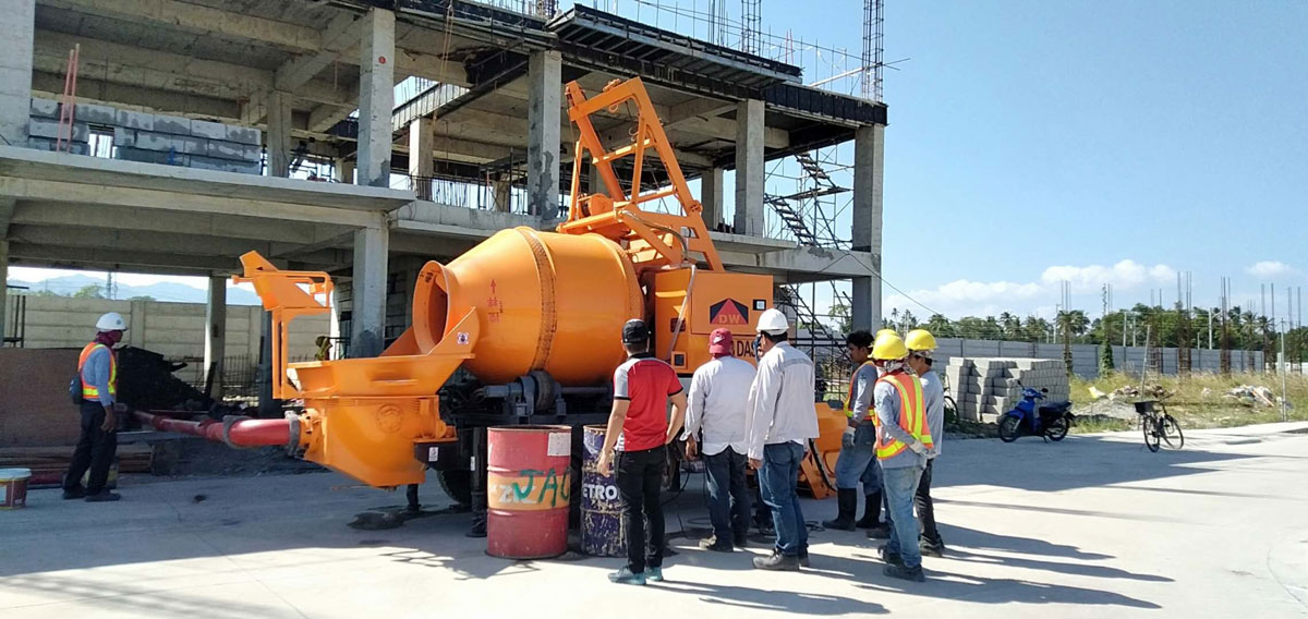 DHBT40-concrete pump in-Batangas