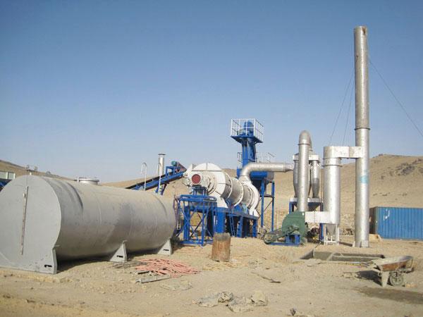 MADP60 small asphalt mixing plant