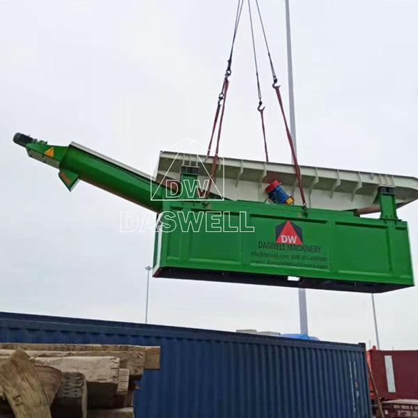 transport concrete reclaimer to Ireland