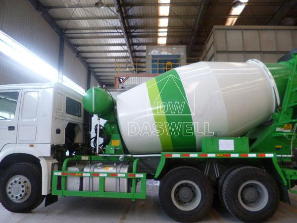 DW-5 concrete mixer truck price