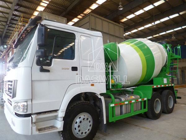 DW-5 mixer truck for concrete