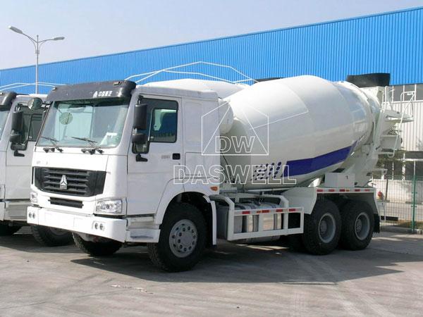 DW-6 concrete mixer truck price