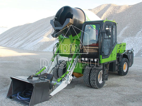 Daswell-Self-Loading-Concrete-Mixer-for-Sale