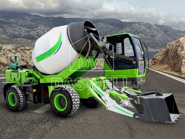 Daswell-Self-Loading-Mixer-Truck