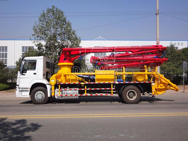 25m concrete boom pump