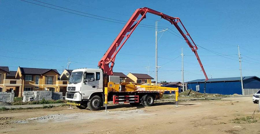 30m concrete pump truck malaysia