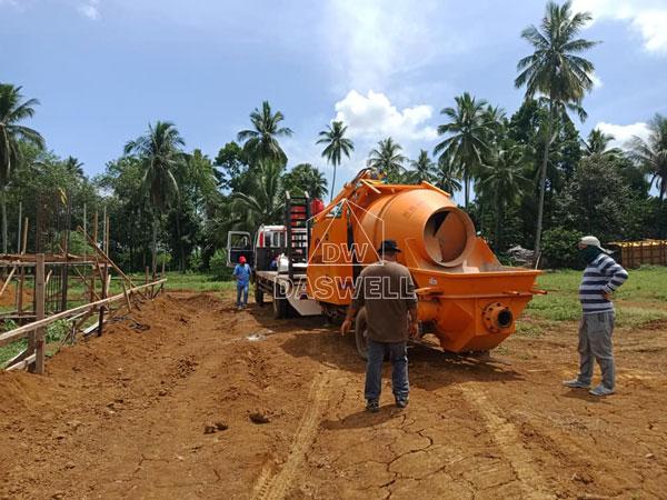 DHBT50 concrete mixing pump philippines