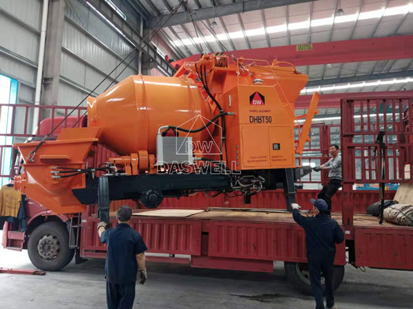 DHBT50 concrete pumping machine