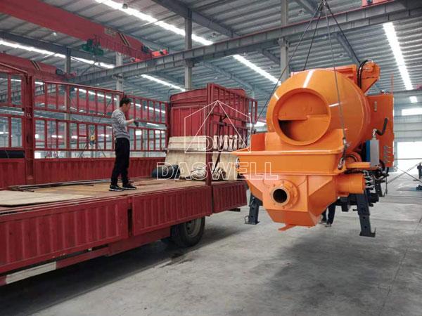 DHBT50 concrete pumping