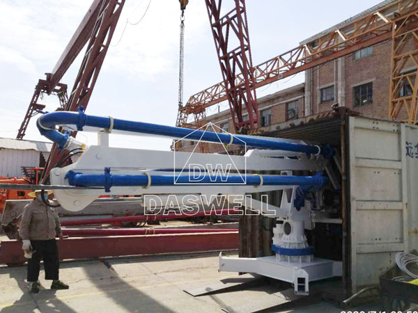 HGY13 mobile boom