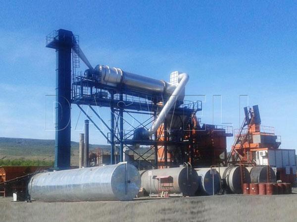 SAP stationary asphalt plant for sale