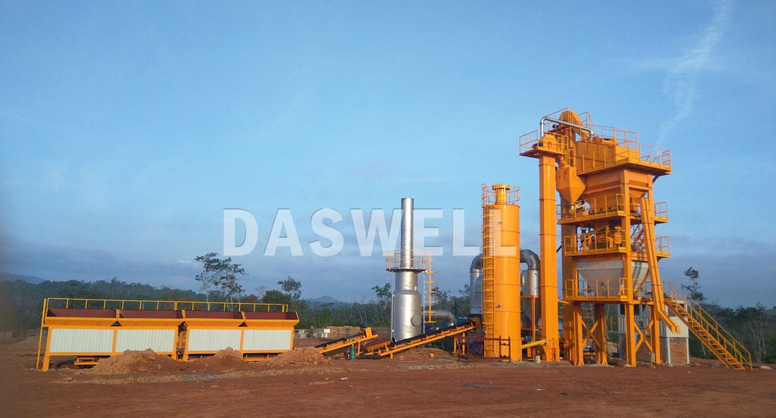 SAP1500 stationary asphalt mixing plant