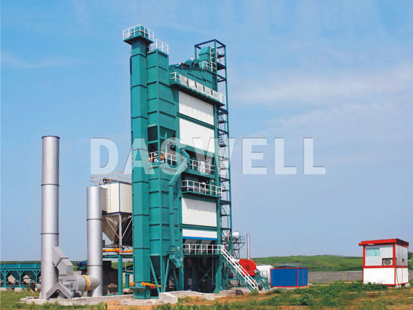 SAP5000 stationary concrete plant