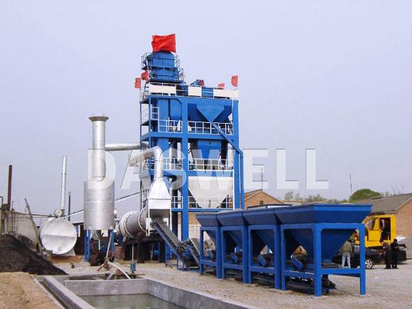 SAP750 stationary bitumen production equipment