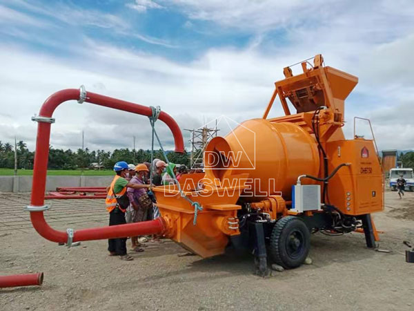 DHBT50 mixer and pump