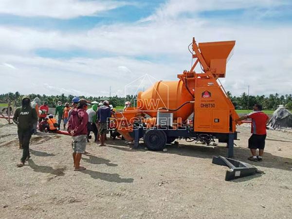 DHBT50 mixing pump