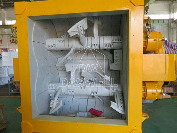 MAO3000 twin shaft mixer
