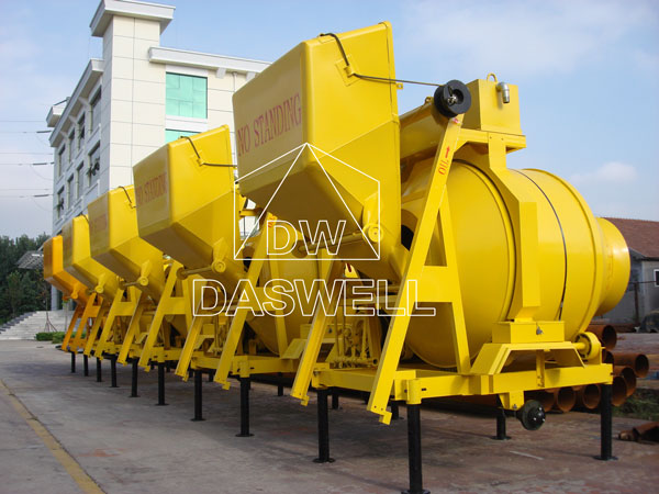 the drum diesel concrete mixer